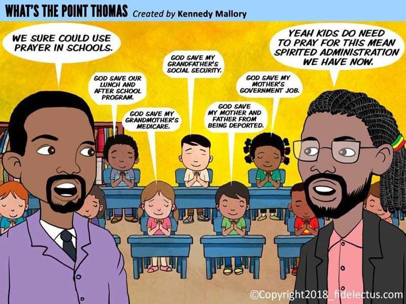 Comic Strip Illustration 1
